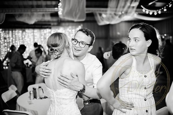 Kaelie and Tom Wedding 08C - 0230bw
