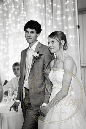 Kaelie and Tom Wedding 08C - 0117bw