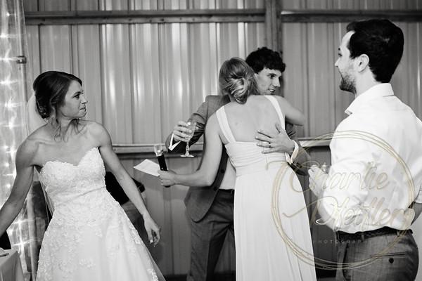 Kaelie and Tom Wedding 08C - 0112bw