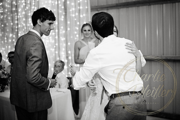Kaelie and Tom Wedding 08C - 0104bw