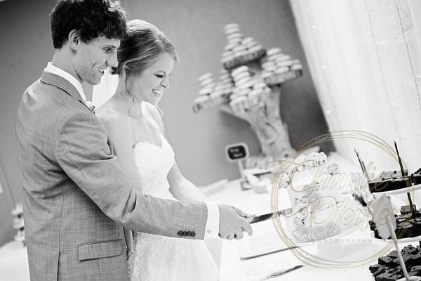 Kaelie and Tom Wedding 08C - 0047bw