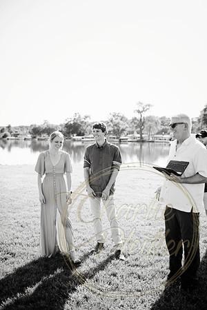 Kaelie and Tom Wedding 02C - 0022bw