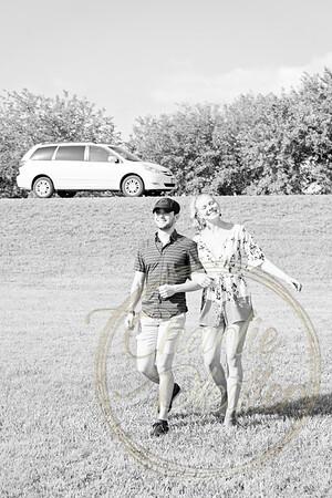 Kaelie and Tom Wedding 02J - 0007bw