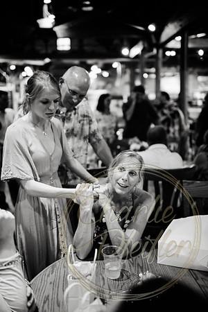 Kaelie and Tom Wedding 02C - 0121bw