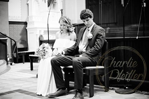 Kaelie and Tom Wedding 01C - 0088bw