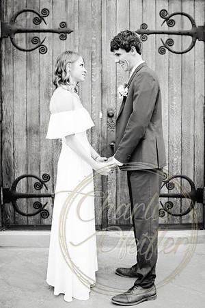Kaelie and Tom Wedding 01C - 0039bw