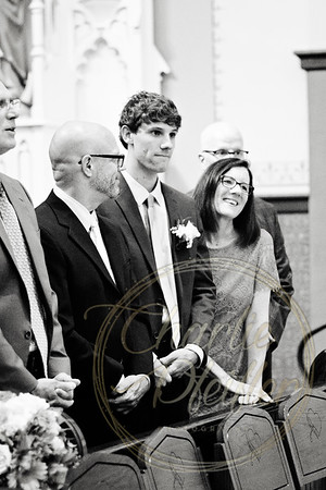 Kaelie and Tom Wedding 01C - 0065bw