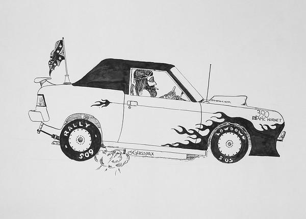 Hornet Car 7x5