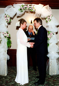 April 13/02 Saying their vows. Teary eyed.