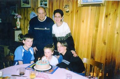 March 1/03 Eric's 6th birthday