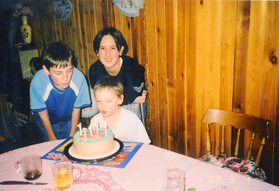 March 1/03 Eric's 6th birthday
