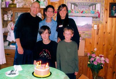 Ryan, Vera & family Alex 18th birthday August '07