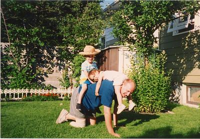 Early August 1993 Ryan, Alex & Anna