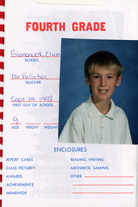 Alex School Years Book  Grade 4
