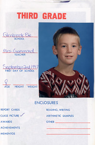 Alex School Years Book  Grade 3
