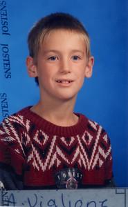 Alex Viglione Grade 3, 1997