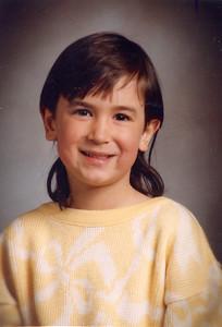 Anna age 5.5 1997