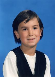 Anna Viglione Grade 1, 1997