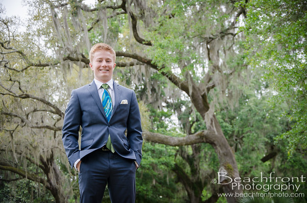 Josiah - H.S. Senior Portraits at Eden Gardens in Santa Rosa Beach