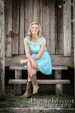 Quinn - H.S. Senior Portraits in Crestview, FL.