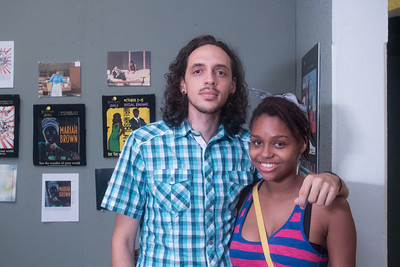 Steven Schmid and Giovanna Swaby.
