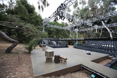 """1207189-007    WEST LOS ANGELES, CA - JULY 18: A performance of William Shakespeare's """"As You Like It"""" by the Shakespeare Center of Los Angeles at the VA West Los Angeles Healthcare Center Campus on July 18, 2012 in West Los Angeles, California. (Photo by Ryan Miller/Capture Imaging)"""