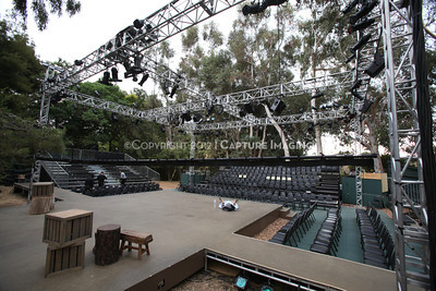 """1207189-004    WEST LOS ANGELES, CA - JULY 18: A performance of William Shakespeare's """"As You Like It"""" by the Shakespeare Center of Los Angeles at the VA West Los Angeles Healthcare Center Campus on July 18, 2012 in West Los Angeles, California. (Photo by Ryan Miller/Capture Imaging)"""