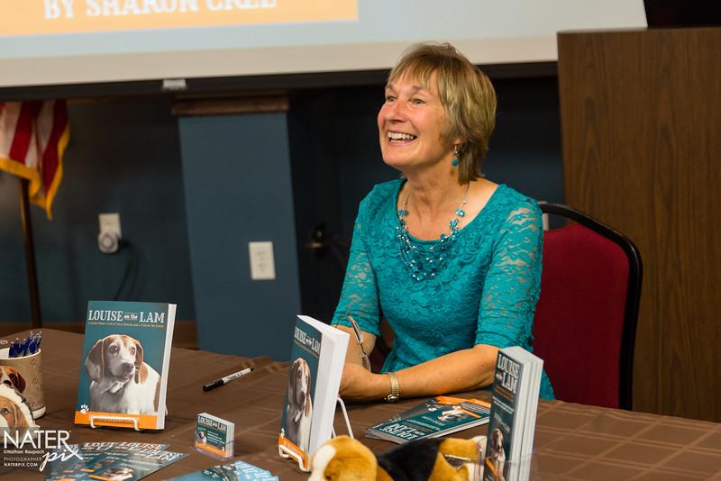 Sharon Cree - book signing - high-016