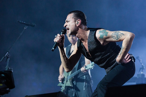 Depeche Mode perform at Montreal's Bell Centre on September 5 2017 during their Global Spirit Tour