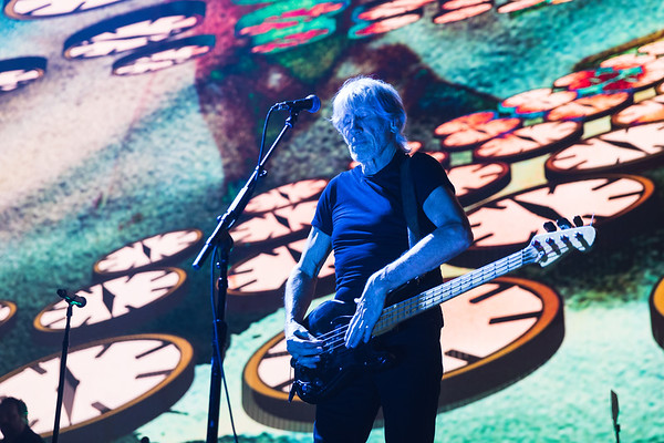 Roger Waters performs at Montreal's Bell Centre on October16 2017