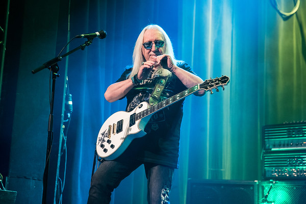 Uriah Heep performs at Montreal's Corona Theatre on February 10 2018