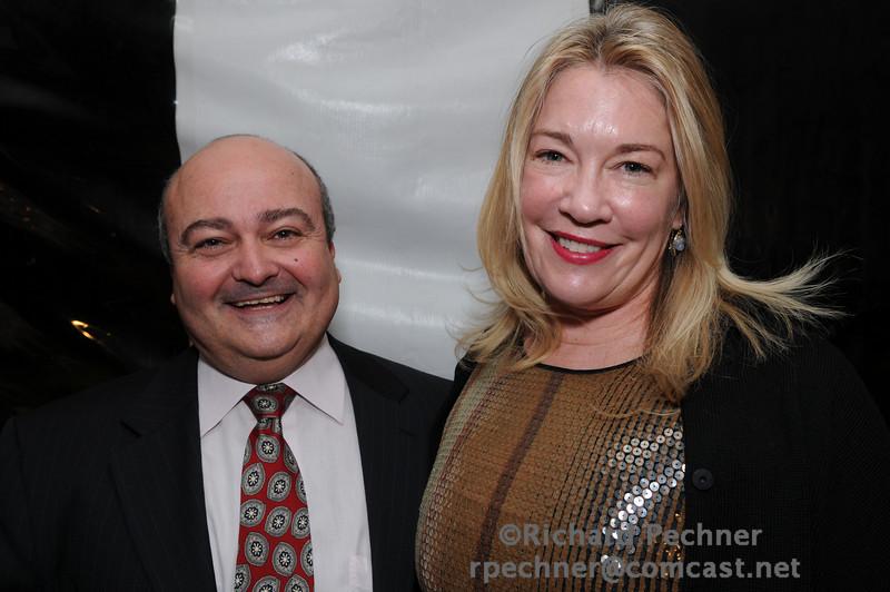 Dr, Thierry Jahan and Deborah Morosini, MD (sister of Dana Reeve)