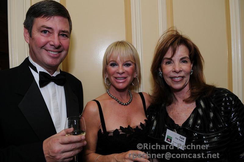 Perry and Carolyn Butler with Eddi Van Auken