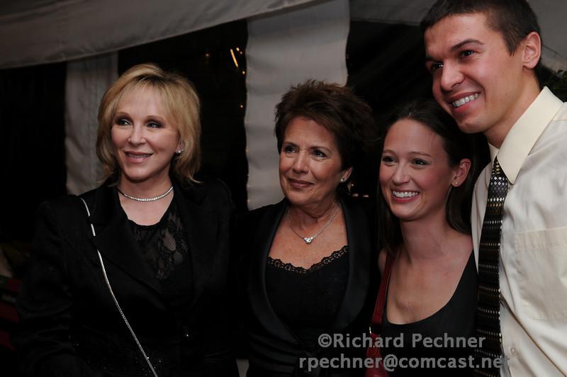 Cheryl Jennings, Bonnie J. Addario and Megan and Jake Schmitt