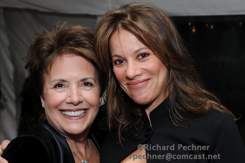 """Bonnie J. Addario with Nancy Lee Grahn, spokesperson for """"A Breath Away from the Cure"""" and  an Emmy Award winning actress"""