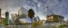 The Walt Disney Concert Hall - Panorama