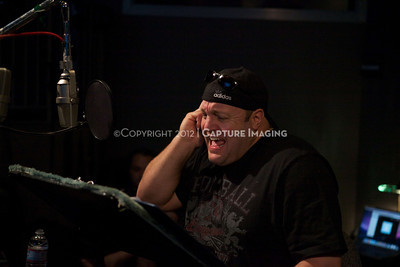 """1202025-035        CULVER CITY, CA - FEBRUARY 24: The Sony Pictures voice over session with Adam Sandler and Kevin James for """"Hotel Transylvania on February 24, 2012 in Culver City, California. (Photo by Ryan Miller/Capture Imaging)"""