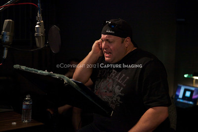 "1202025-033        CULVER CITY, CA - FEBRUARY 24: The Sony Pictures voice over session with Adam Sandler and Kevin James for ""Hotel Transylvania on February 24, 2012 in Culver City, California. (Photo by Ryan Miller/Capture Imaging)"