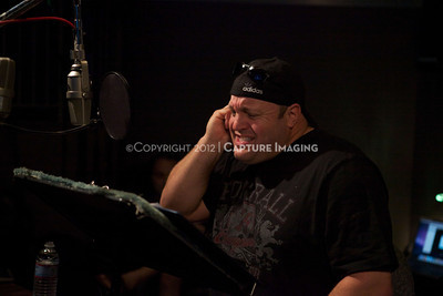 """1202025-041        CULVER CITY, CA - FEBRUARY 24: The Sony Pictures voice over session with Adam Sandler and Kevin James for """"Hotel Transylvania on February 24, 2012 in Culver City, California. (Photo by Ryan Miller/Capture Imaging)"""