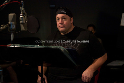 "1202025-022        CULVER CITY, CA - FEBRUARY 24: The Sony Pictures voice over session with Adam Sandler and Kevin James for ""Hotel Transylvania on February 24, 2012 in Culver City, California. (Photo by Ryan Miller/Capture Imaging)"