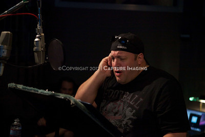 "1202025-044        CULVER CITY, CA - FEBRUARY 24: The Sony Pictures voice over session with Adam Sandler and Kevin James for ""Hotel Transylvania on February 24, 2012 in Culver City, California. (Photo by Ryan Miller/Capture Imaging)"