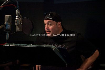 "1202025-015        CULVER CITY, CA - FEBRUARY 24: The Sony Pictures voice over session with Adam Sandler and Kevin James for ""Hotel Transylvania on February 24, 2012 in Culver City, California. (Photo by Ryan Miller/Capture Imaging)"