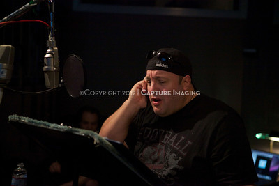 "1202025-045        CULVER CITY, CA - FEBRUARY 24: The Sony Pictures voice over session with Adam Sandler and Kevin James for ""Hotel Transylvania on February 24, 2012 in Culver City, California. (Photo by Ryan Miller/Capture Imaging)"