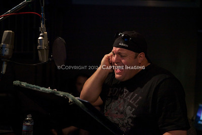 """1202025-040        CULVER CITY, CA - FEBRUARY 24: The Sony Pictures voice over session with Adam Sandler and Kevin James for """"Hotel Transylvania on February 24, 2012 in Culver City, California. (Photo by Ryan Miller/Capture Imaging)"""