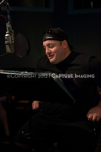 "1202025-016        CULVER CITY, CA - FEBRUARY 24: The Sony Pictures voice over session with Adam Sandler and Kevin James for ""Hotel Transylvania on February 24, 2012 in Culver City, California. (Photo by Ryan Miller/Capture Imaging)"