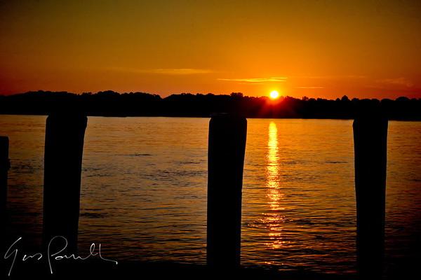 Sunrise on the bock