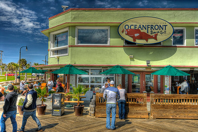 Oceanfront Bar & Grill on the Boardwalk in Myrtle Beach, SC on Saturday, March 10, 2012. Copyright 2012 Jason Barnette