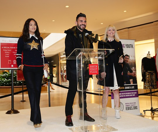 15th Anniversary Angelitos De Oro Event at South Coast Plaza benefiting Big Brothers Big Sisters of Orange County