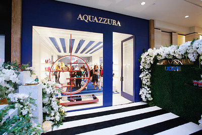 Aquazzura boutique opening party held at the South Coast Plaza