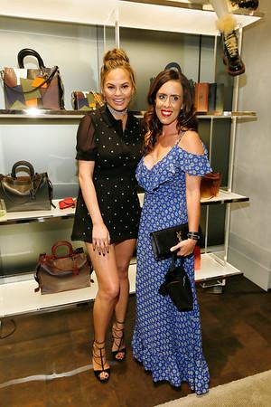 Chrissy Teigen Celebrates COACH's Pre-Fall 2016 Collection